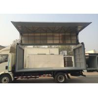 Left Driving Light Duty Wing Van Truck, 115HP 7.50R16 Tire Wing Body Truck 6 Wheels Manufactures