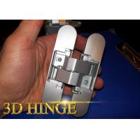 180 Degree Adjustable Door Hinges 3d Adjustable Door Hinge For Commercial Wood Frames Manufactures