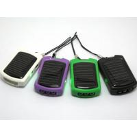 China Multi-functional 1000mA 5.5V Mini solar charger by computer or AC adapter on sale