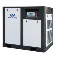 22KW 30 HP Rotary Screw Air Compressor Gray And Blue Color Internal Oil Separation Manufactures