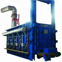 PLC Controlled Bogie Hearth Furnace 6-8 M/Min Door And Bogie Moving Speed Manufactures