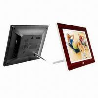 IPS Panel 9.7-inch Photo Frames, Light Sensation, Multi-function, Wood Texture/Frame for Choice Manufactures