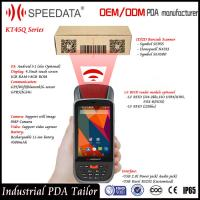 Dual Sim Card Android Handheld Smart Card Reader PDA LF Rfid Mobile Reader 125Khz Manufactures