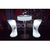 Remote Control Lady Chair LED Bar Furniture Color Change Light Bar Chair Manufactures