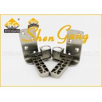 90 Degree Stainless Steel Pivot Door Hinges / Heavy Duty Offset Hinges , 131*25mm(L*W) Manufactures