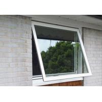 1.6mm profile thickness white aluminum awning windows for commercial building Manufactures