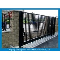 Wrought Iron Automatic Security Gates Commercial For Living Quarter XLF-03 Manufactures