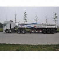 711-long tube CNG transportation semi-trailer, made of 4130X and 30CrMo Manufactures