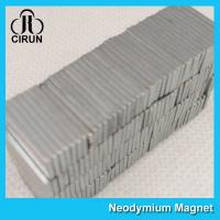 Strong Neodymium Permanent Magnets , N45-N50 Neodymium Block Magnets Manufactures