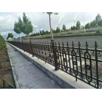 Galvanized Cast Iron Fence Panels Powder Coated Surface Treatment Decorative Metal Fence Manufactures