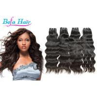 Soft Smooth Natural Wave Indian Virgin Human Hair wefts 3.3oz-3.5oz / pcs Manufactures