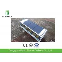 PV Solar Powered Electric Car Deployed 350 KW Flexible Solar Panel ECO Friendly Manufactures