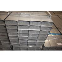 Rectangular Hot Dipped Galvanized Steel Pipe / Welded Tubing EN10219 Q195 Manufactures