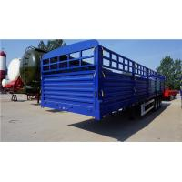 Quality tri axle tons per 40 ft walle trucks fence cargo semi trailer - CIMC for sale