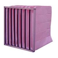 290 * 592 * 69mm Medium efficiency box filter, industrial air filters for vacuum cleaner parts Manufactures