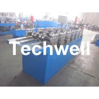 Steel Furring Channel Cold Roll Forming Machine For Steel Roof Ceiling Truss Manufactures