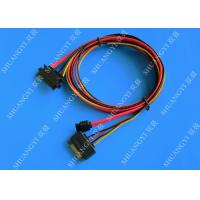 China Female 22-pin to Male 22-pin SATA Data & Power Combo Data Extension Cable on sale