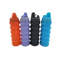 China Splash Collapsible Water Bottle, Travel Leakproof, 650ml, BPA Free, Foldable water bottle on sale