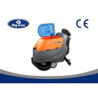 Dycon ISSA member Manufacturer Floor Cleaner , Floor Scrubber Dryer Machine With Two Floor Scrubber Manufactures