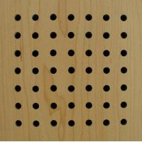 Wooden  Acoustic Panel(perforated) Manufactures