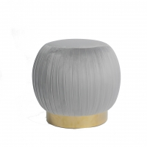 China Modern Home Furniture Sweet Seat Pleated Blush Ottoman / Stools on sale