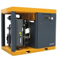 220HP Used Condition 160kw Energy saving screw air compressor with air dryer for industrial equipment Manufactures