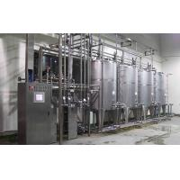 Stainless Steel Juice / Beer / Soft Drink Filling Machine 3 In 1 2000BPH -18000BPH