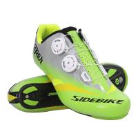 Ultralight Road Bicycle Shoes / Carbon Sole Men Breathable Self - Locking Cycling Sneakers Manufactures