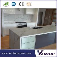 China Vantop Quartz Countertops That Look Like Calacatta Gold Marble  on sale