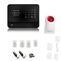 China Touch screen WIFI alarm panel gsm auto dial alarm system on sale