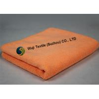 Super Comfortable Absorbent Microfiber Cleaning Cloth Pink Orange Manufactures