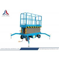Battery Power Mobile Hydraulic Scissor Lift with 10m Platform Height Manufactures