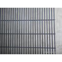 4.0mm Vinyl Coated Wire Mesh Fence 358 security Prison , steel wire mesh Manufactures