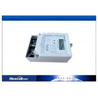 Single Phase Electric Energy Meter , Domestic Electricity Energy Meter Manufactures