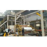 China Stable Performance Non Woven Fabric Making Machine , Nonwoven Machinery on sale