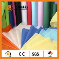 Colorful Waterproof Spun Bonded Raw Material For Non Woven Fabric , 10gsm-320gsm Manufactures