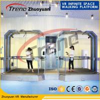Full Automatic Touch Screen VR Space Walk  2 Handles With 360° VR HTC Glasses Manufactures