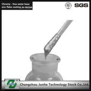 Low Friction Zinc Flake Coating / Zinc Nickel Plating Good Heat Resistance JH-9610 Manufactures