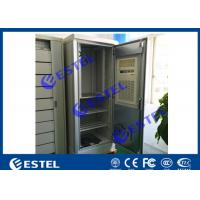 China Floor Mount Outdoor Electrical Cabinets And Enclosures With 1500W Air Conditioner on sale