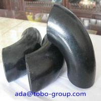 A234 Wpb Carbon Steel Pipe Fitting Connector LR Elbow 90 D Sch40 ANSI Manufactures