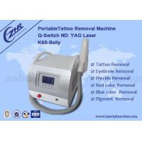 Quality Permanent Laser Q Switched Nd Yag Tattoo Removal Equipment 1064nm/532nm/1320nm for sale