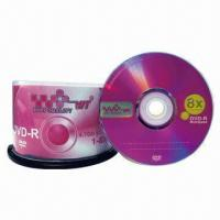 8x 4.7GB/120 Minutes DVD-Rs with Burner and CD Player Manufactures