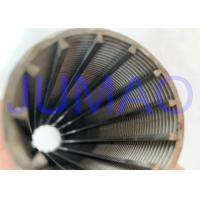 Stainless Steel Wedge Wire Screen Filter Element 30 Micron ~800 Micron Manufactures