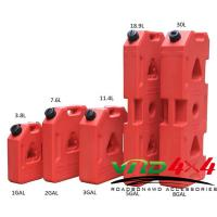 Factory Wholesale Roto Molded 3-8 Gallon 19L Plastic Jerry Can / Gasoline diesel fuel container Manufactures