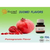 Propylene Glycol Artificial Confectionery Flavours Pomegranate Fruit Flavor Manufactures