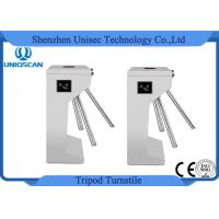 China Two Way Security Tripod Turnstile Gate 550mm Channel Width With Access Control System on sale