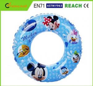 Dia 100cm Inflatable Swim Ring Mickey / Minnie Disney Pool Toys Swim Set Manufactures