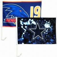 Standard Car Flags, Large, Manufactures