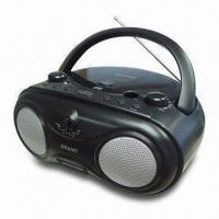 Boom Box MP3 + CD-R/CD Player with AM/FM 2-band Radio and Built-in Speaker Manufactures