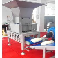 Motor Pastry Dough Sheeting Machine With Auto Dough Block Cutting Hopper Manufactures